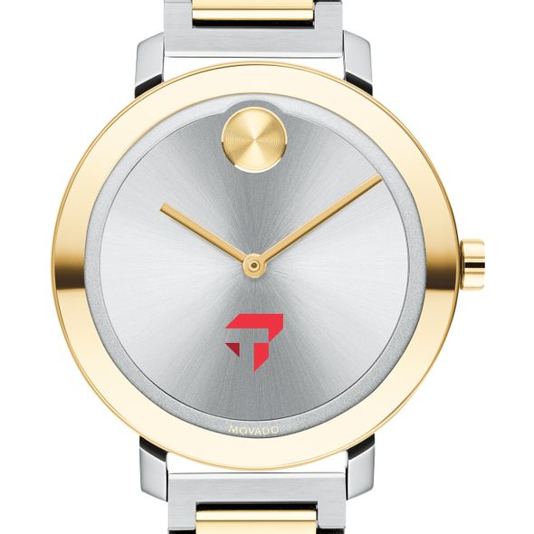 Tepper School of Business Women's Movado Two-Tone Bold 34