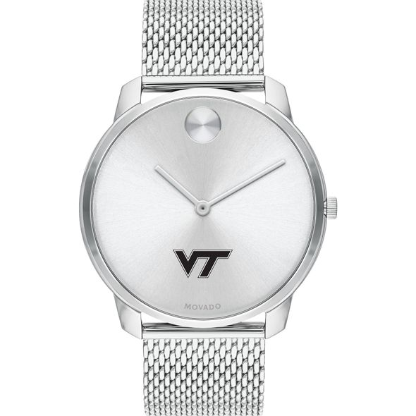 Virginia Tech Men's Movado Stainless Bold 42 - Image 2
