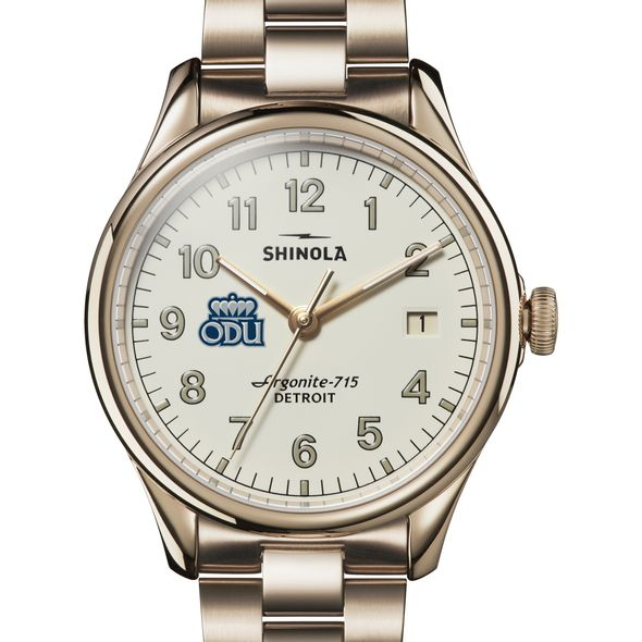 Old Dominion Shinola Watch, The Vinton 38mm Ivory Dial