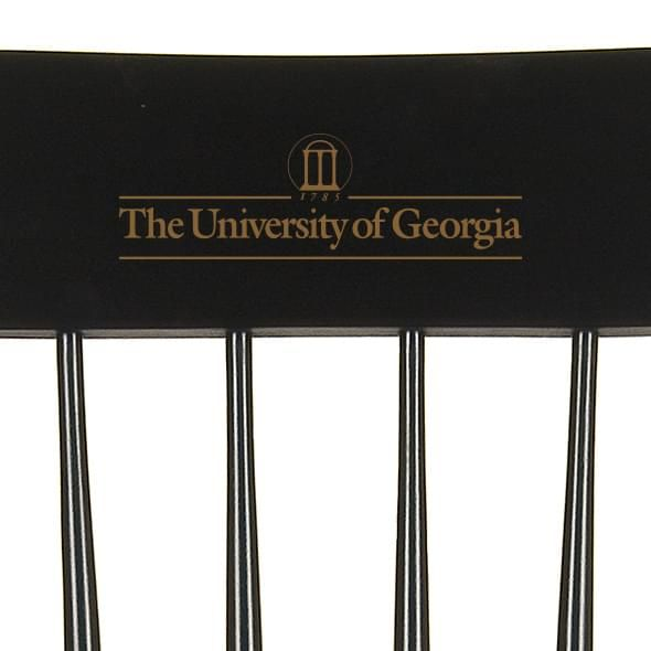 University of Georgia Captain's Chair by Hitchcock - Image 2