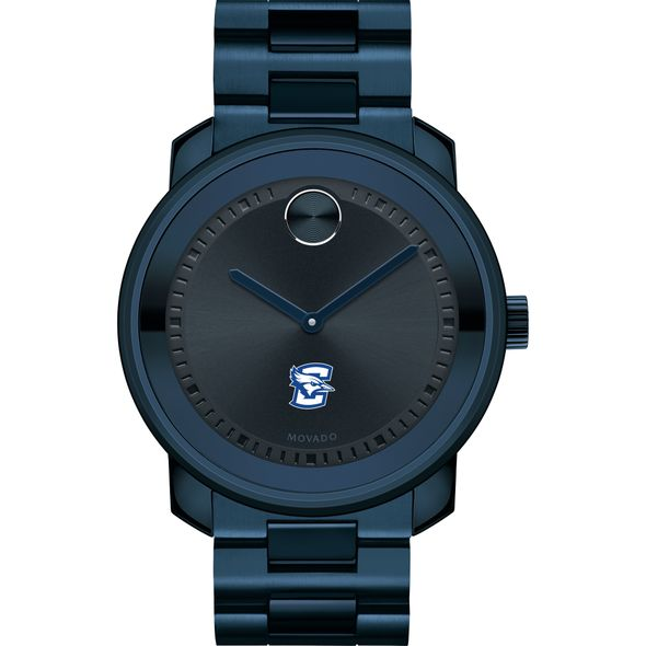 Creighton University Men's Movado BOLD Blue Ion with Bracelet - Image 2