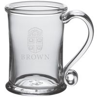 Brown Glass Tankard by Simon Pearce