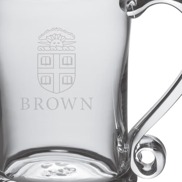 Brown Glass Tankard by Simon Pearce - Image 2