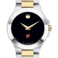 Wisconsin Women's Movado Collection Two-Tone Watch with Black Dial