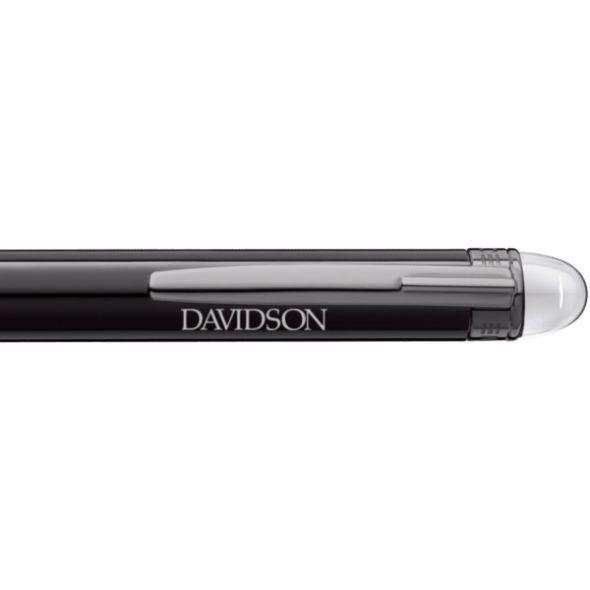 Davidson College Montblanc StarWalker Ballpoint Pen in Ruthenium - Image 2