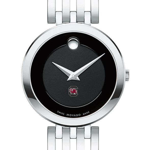 University of South Carolina Women's Movado Esparanza Stainless Steel Museum with Bracelet