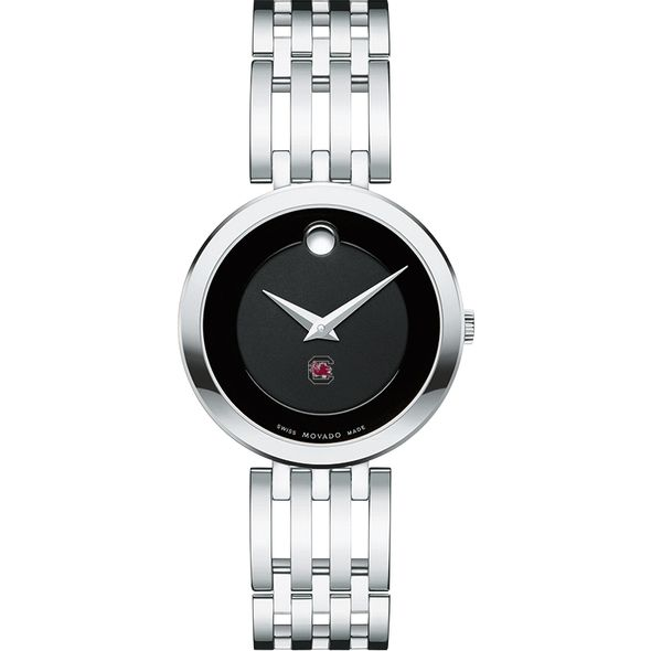 University of South Carolina Women's Movado Esparanza Stainless Steel Museum with Bracelet - Image 2
