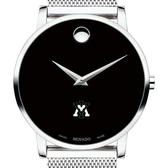 Virginia Military Institute Men's Movado Museum with Mesh Bracelet