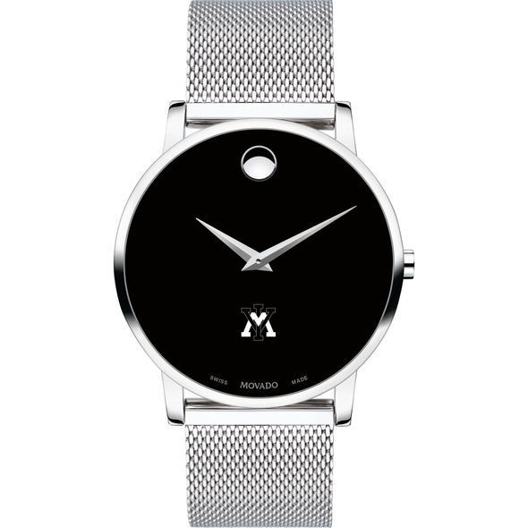 Virginia Military Institute Men's Movado Museum with Mesh Bracelet - Image 2
