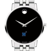US Naval Academy Men's Movado Museum with Bracelet