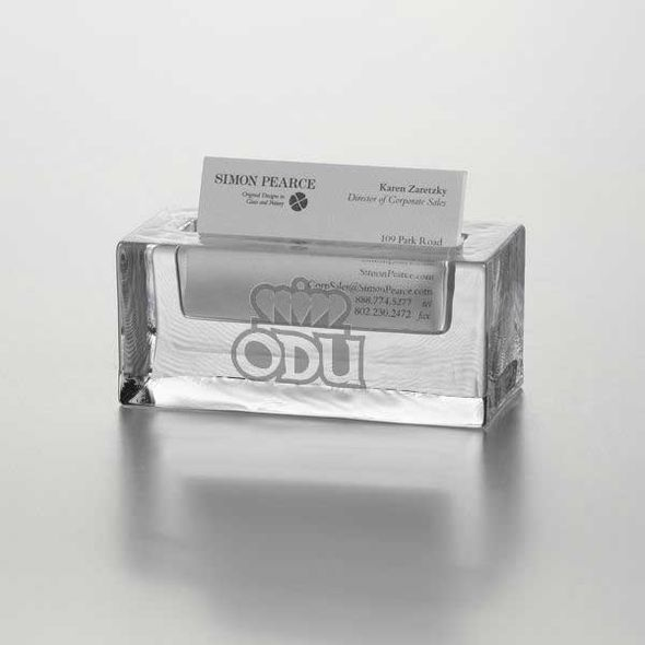 Old Dominion Glass Business Cardholder by Simon Pearce