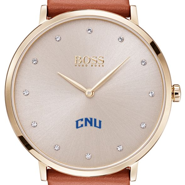 Christopher Newport University Women's BOSS Champagne with Leather from M.LaHart