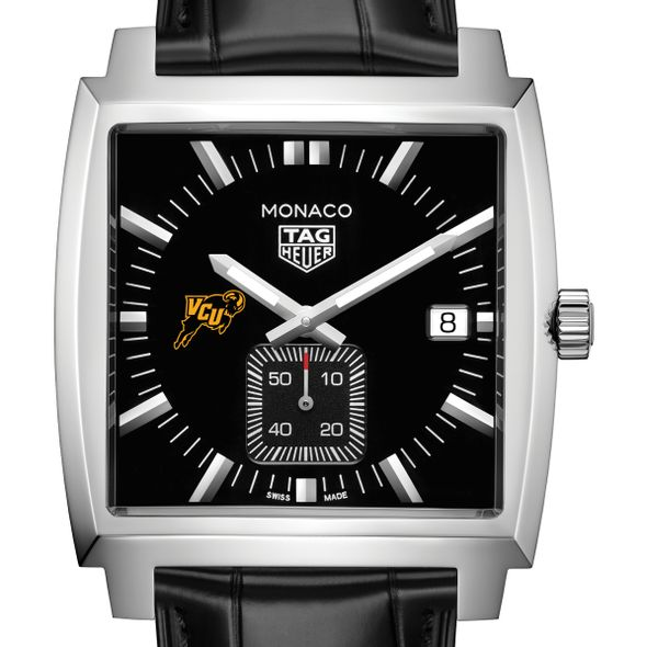 Virginia Commonwealth University TAG Heuer Monaco with Quartz Movement for Men