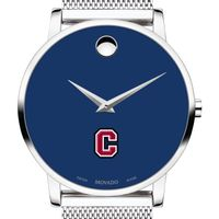 Colgate University Men's Movado Museum with Blue Dial & Mesh Bracelet
