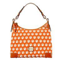 Clemson  Dooney & Bourke Hobo Bag