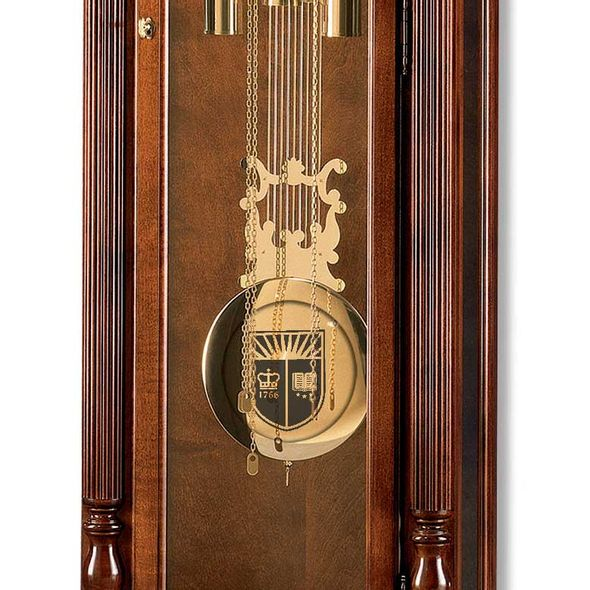 Rutgers University Howard Miller Grandfather Clock - Image 2