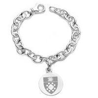 Yale SOM Sterling Silver Charm Bracelet