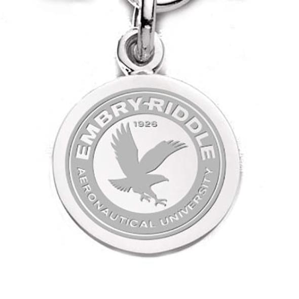 Embry-Riddle Sterling Silver Charm - Image 1