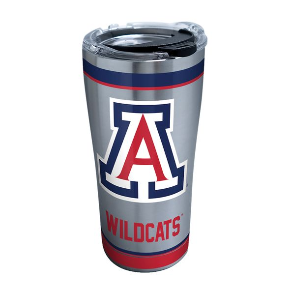 Arizona 20 oz. Stainless Steel Tervis Tumblers with Hammer Lids - Set of 2 - Image 1
