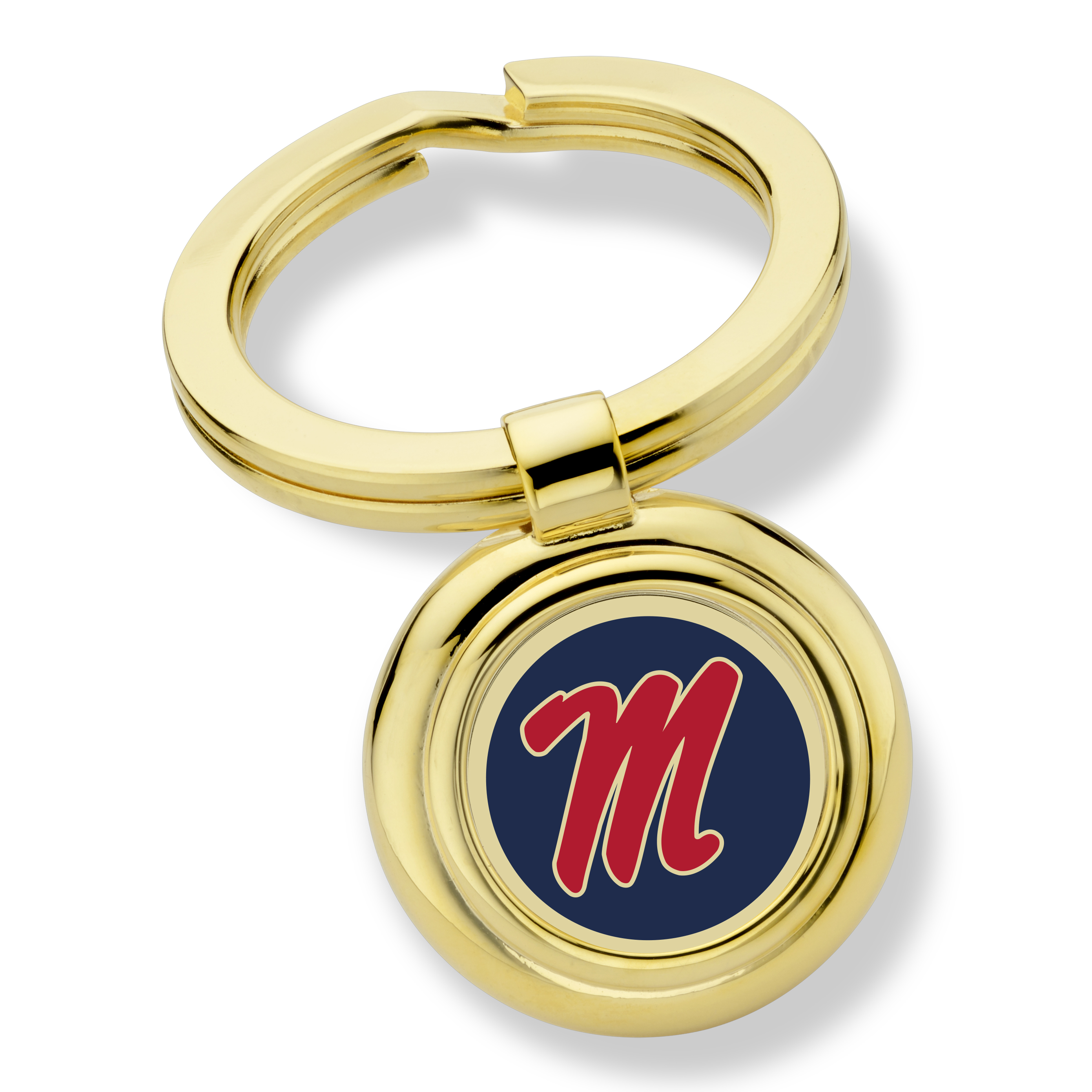 Ole Miss Key Ring