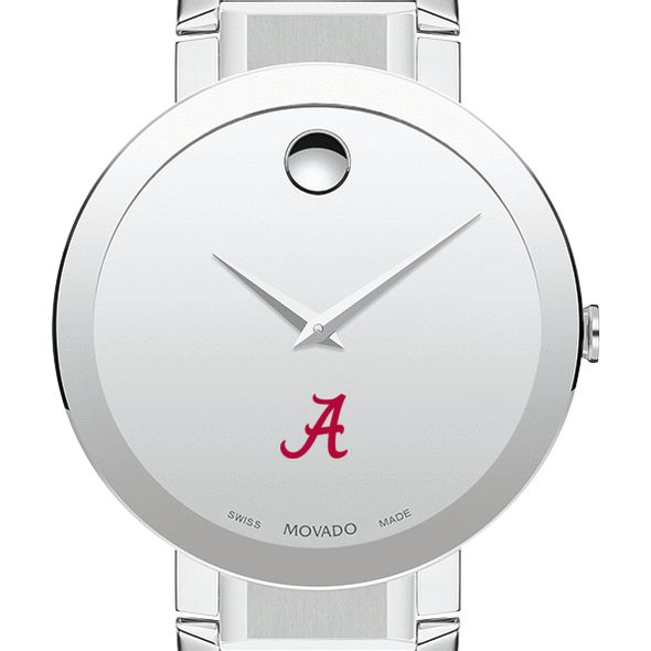 University of Alabama Men's Movado Sapphire Museum with Bracelet