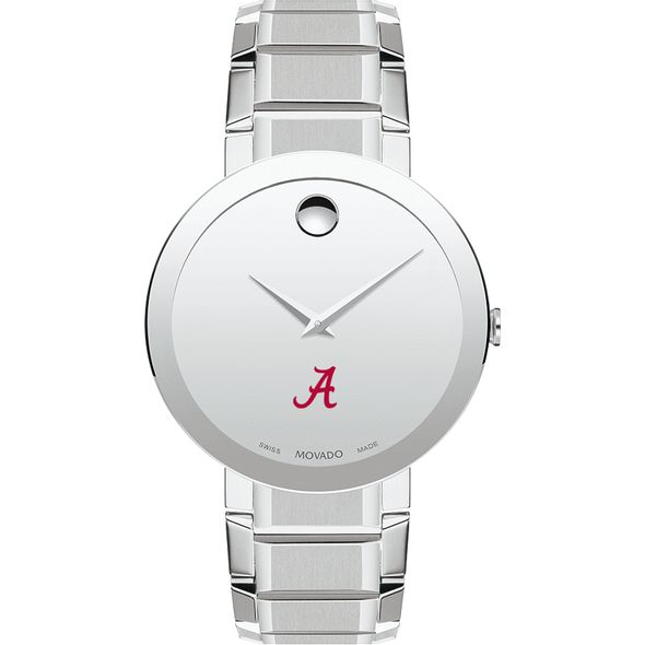 University of Alabama Men's Movado Sapphire Museum with Bracelet - Image 2