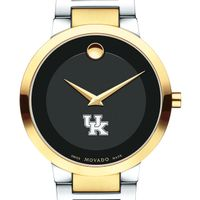 University of Kentucky Men's Movado Two-Tone Modern Classic Museum with Bracelet