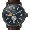 LSU Shinola Watch, The Runwell 47mm Midnight Blue Dial - Image 1