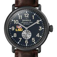 LSU Shinola Watch, The Runwell 47mm Midnight Blue Dial