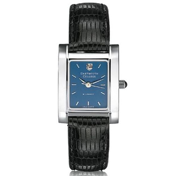 Dartmouth Women's Blue Quad Watch with Leather Strap