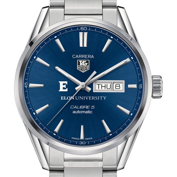 Elon Men's TAG Heuer Carrera with Day-Date