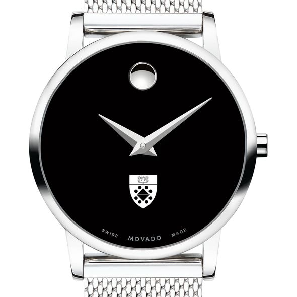 Yale School of Management Women's Movado Museum with Mesh Bracelet - Image 1