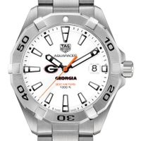 University of Georgia Men's TAG Heuer Steel Aquaracer
