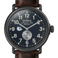 Gonzaga Shinola Watch, The Runwell 47mm Midnight Blue Dial