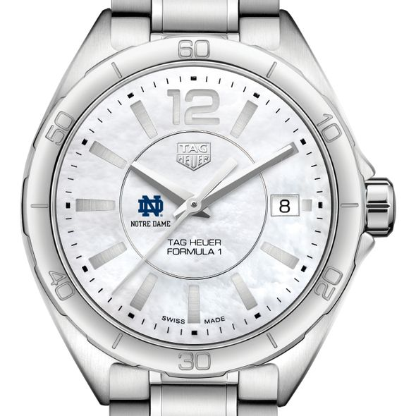University of Notre Dame Women's TAG Heuer Formula 1 with MOP Dial