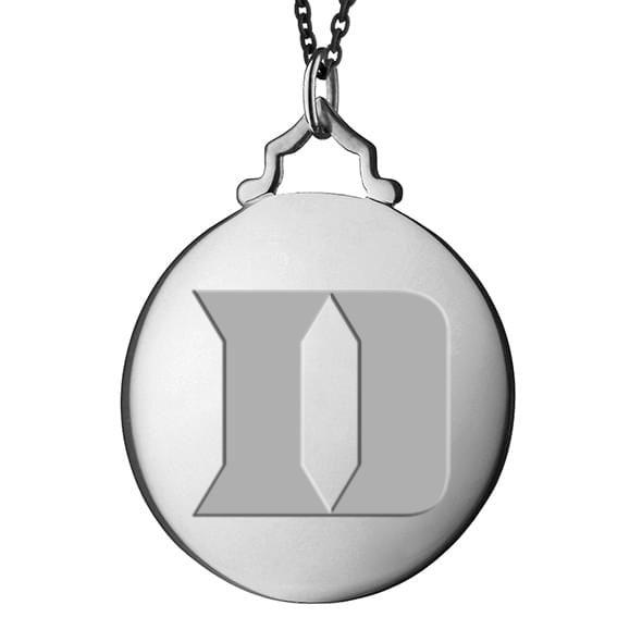 Duke Monica Rich Kosann Round Charm in Silver with Stone - Image 2
