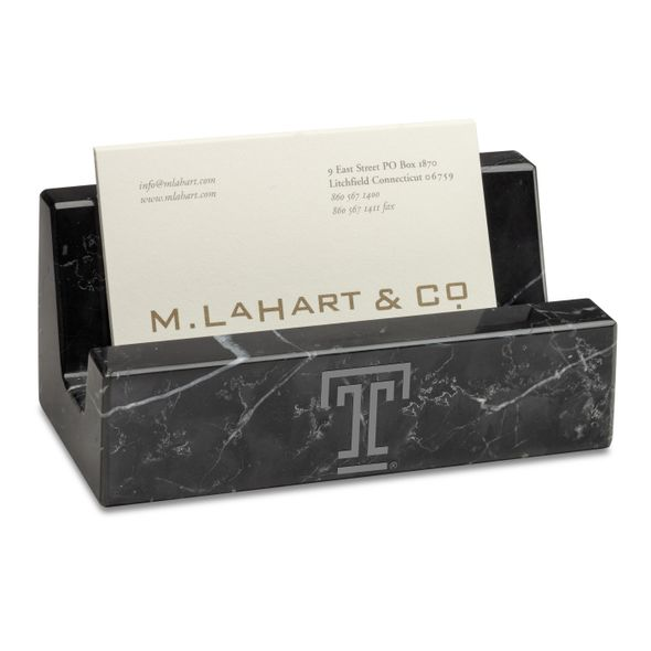 Temple Marble Business Card Holder