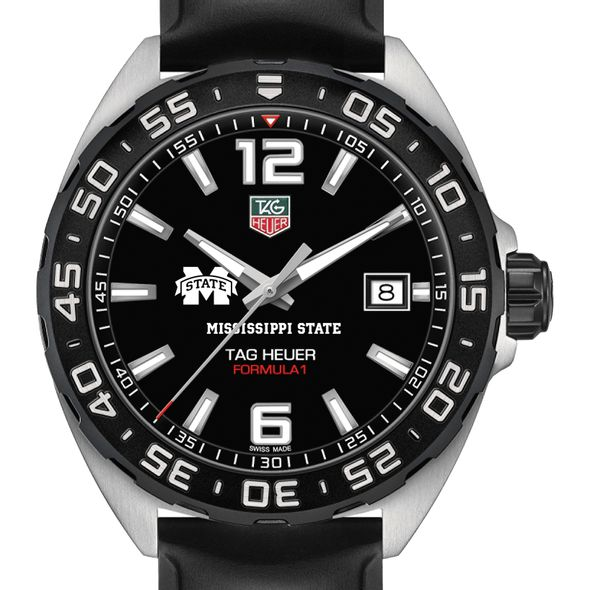 Mississippi State Men's TAG Heuer Formula 1 with Black Dial