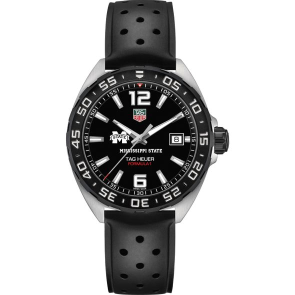 Mississippi State Men's TAG Heuer Formula 1 with Black Dial - Image 2