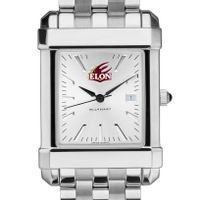 Elon Men's Collegiate Watch w/ Bracelet