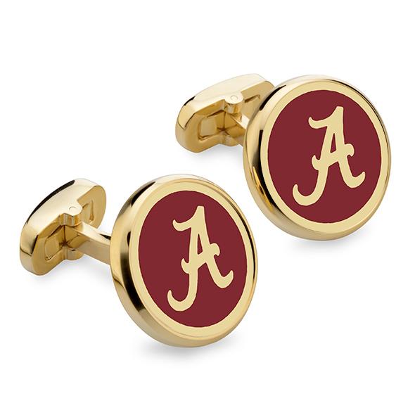 Alabama Enamel Cufflinks