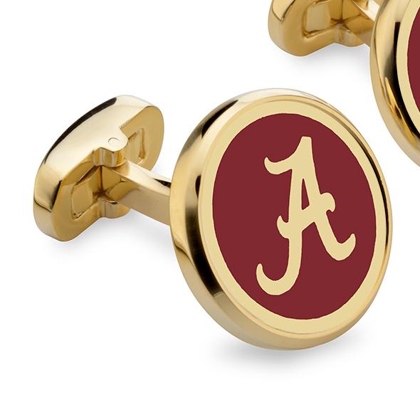 Alabama Enamel Cufflinks - Image 2