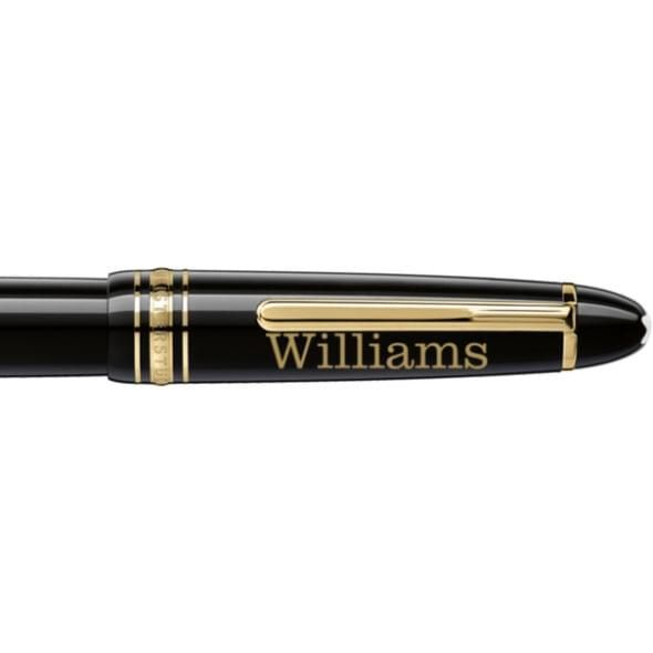 Williams College Montblanc Meisterstück LeGrand Rollerball Pen in Gold - Image 2