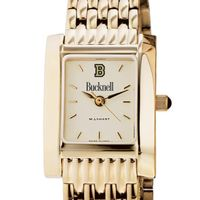 Bucknell Women's Gold Quad with Bracelet