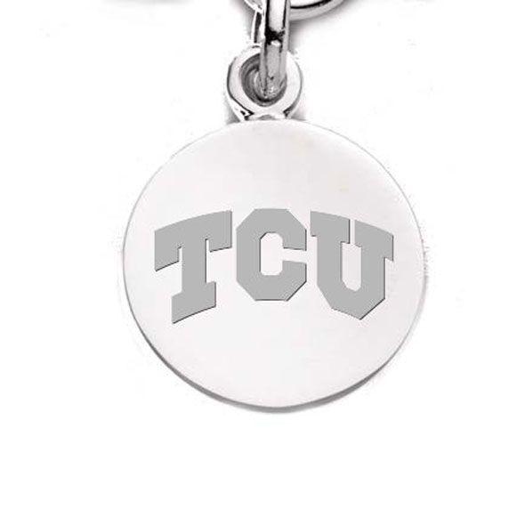 TCU Sterling Silver Charm - Image 2
