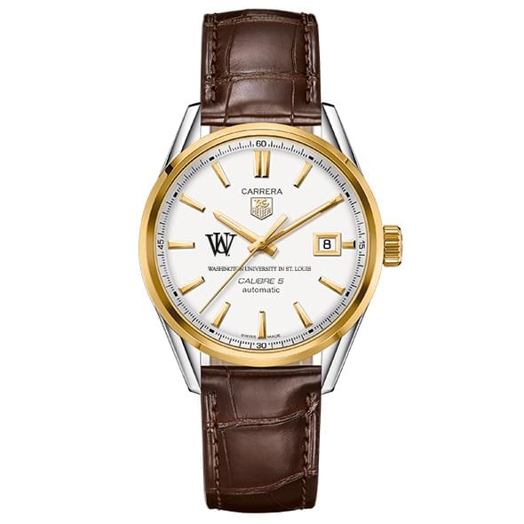 WUSTL Men's TAG Heuer Two-Tone Carrera with Strap - Image 2