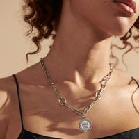 Harvard Amulet Necklace by John Hardy with Long Links and Three Connectors