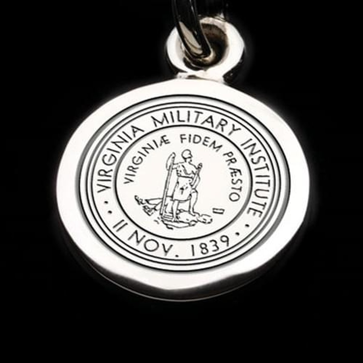virginia military institute sterling silver individual charm In US Nickels Silver Content