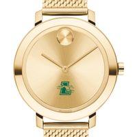 Loyola Women's Movado Bold Gold with Mesh Bracelet