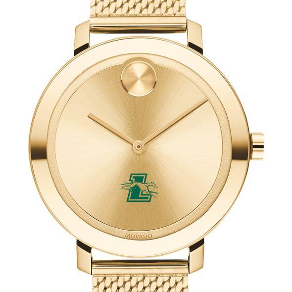 Loyola Women's Movado Bold Gold with Mesh Bracelet - Image 1